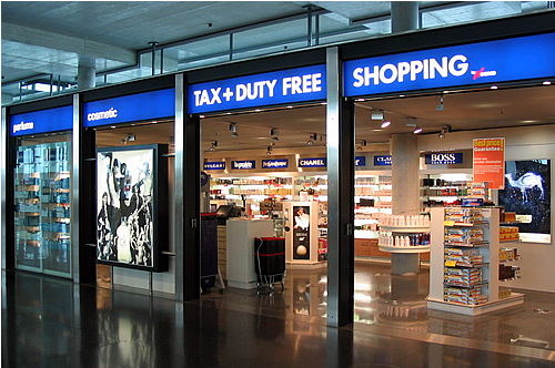 Duty-Free-aéroport